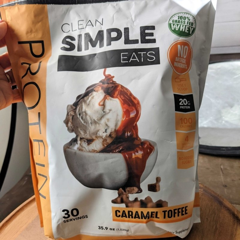 Clean simple eats protein powder