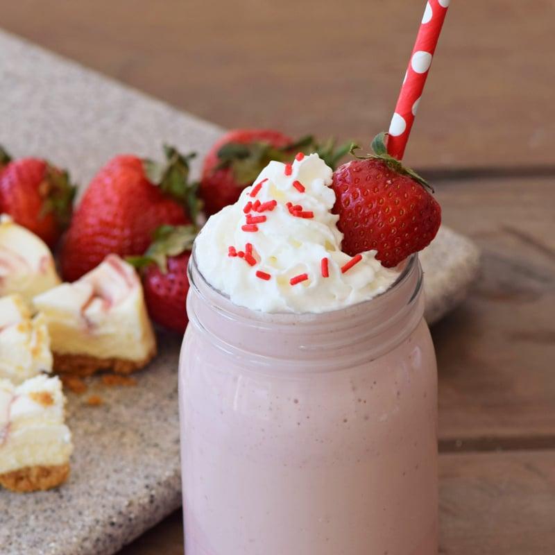 Strawberry Shake with Strawberry 1200x1200