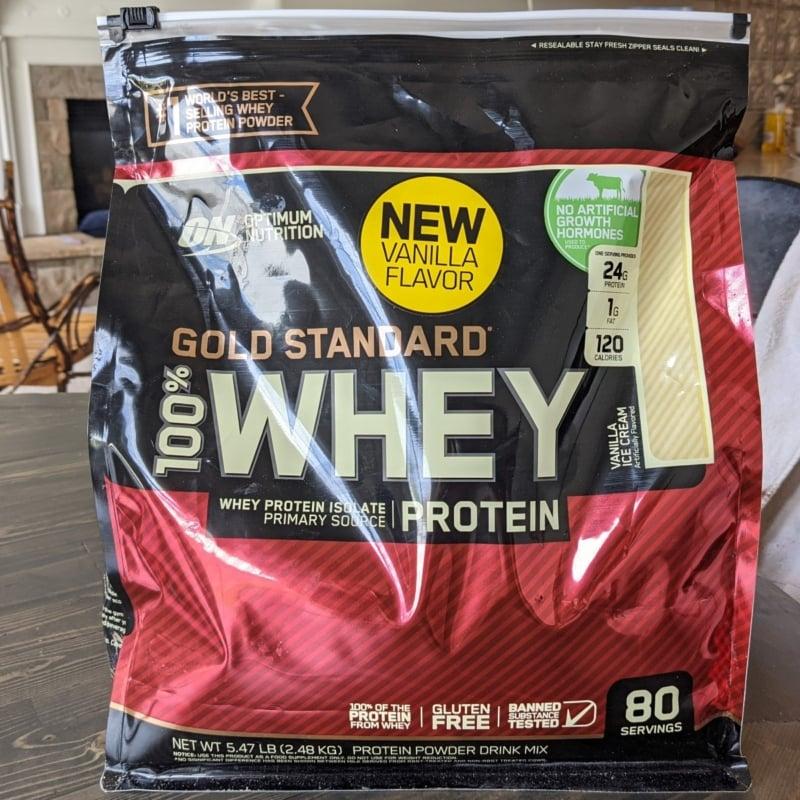 optimum nutrition protein powder (Custom)