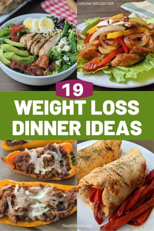 19 weight loss dinner ideas