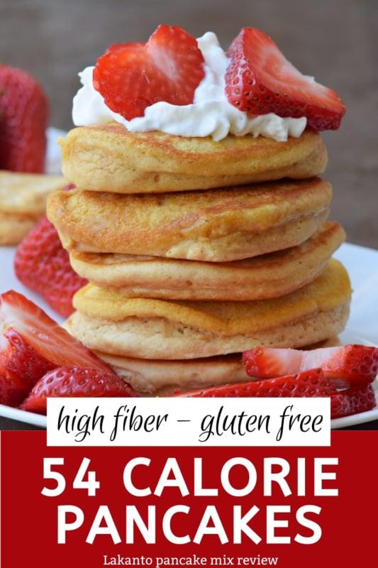 54 calorie high fiber gluten free pancake review