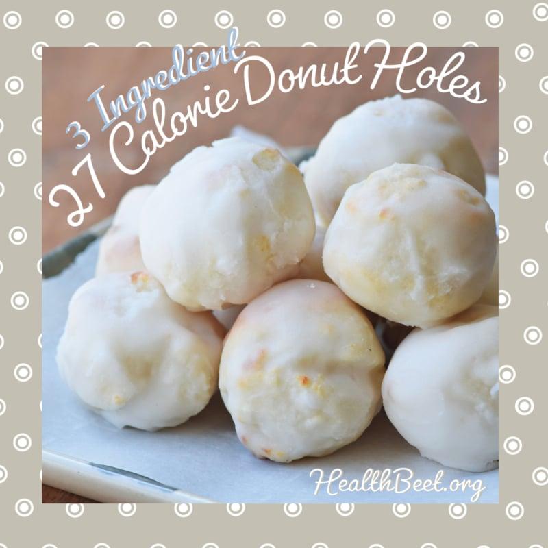 Sugar Free fat free Donut Hole Polka Dot
