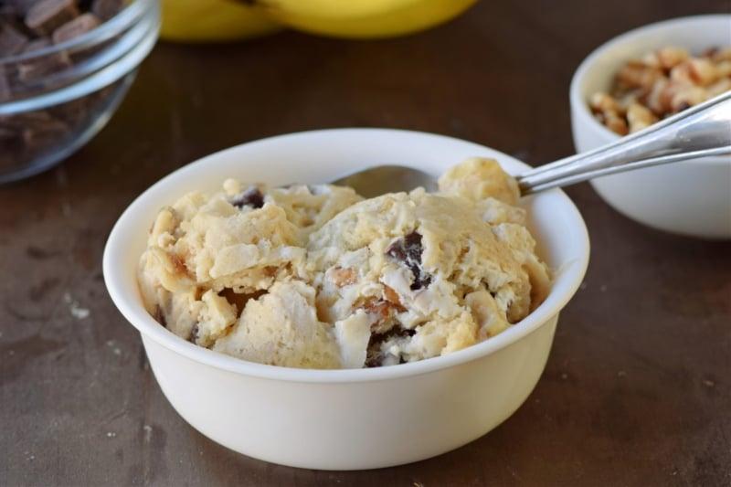 Easy chunky monkey protein ice cream recipe (Custom)