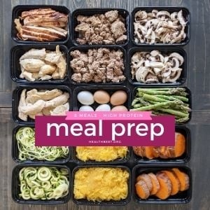 easy meal prep ideas and meals