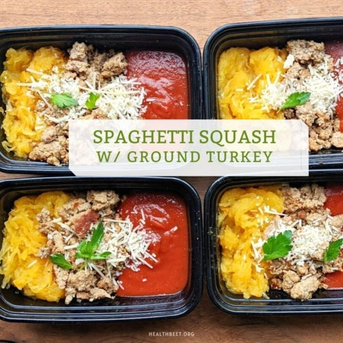 spaghetti squash with ground turkey for weight loss dinners under 300 calories