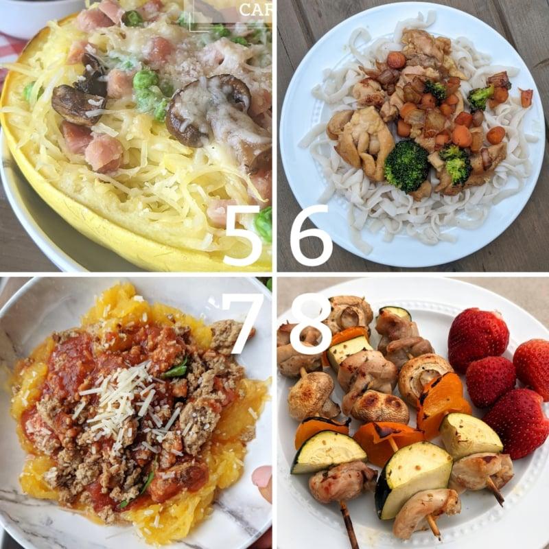 weight loss dinner ideas 5-8