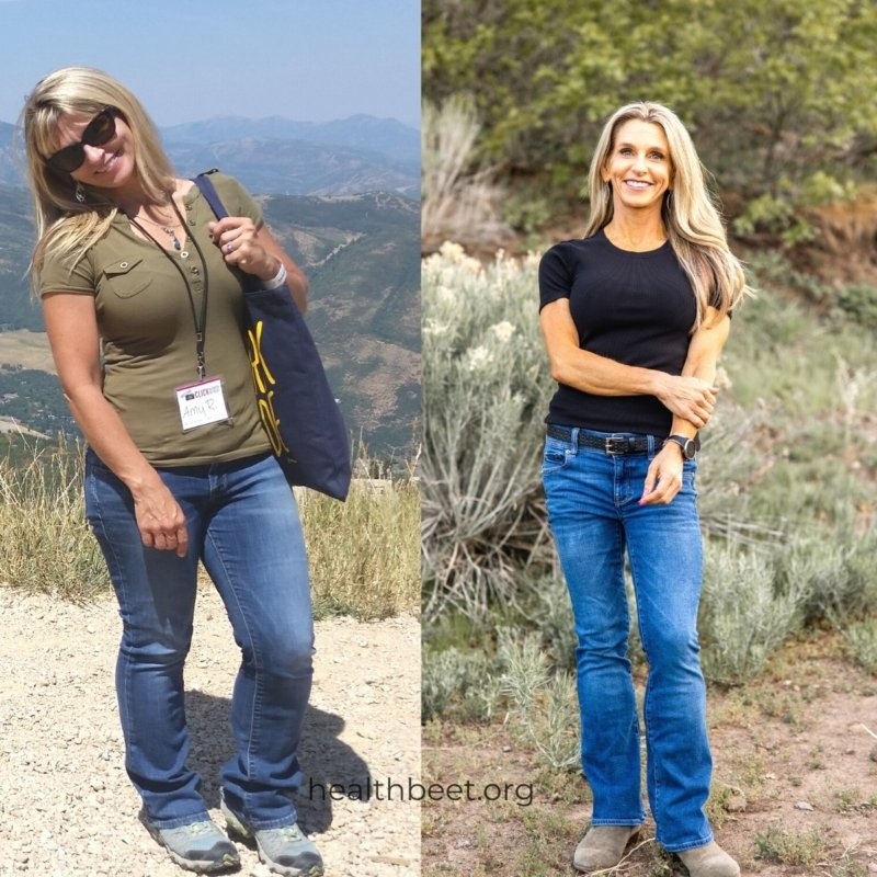 Before and after weight loss counting macros