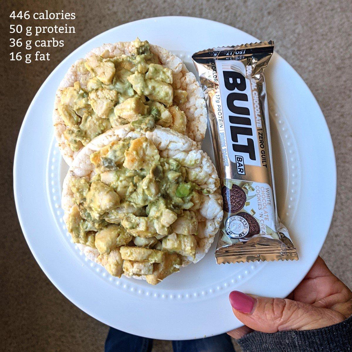 bikini prep diet snack