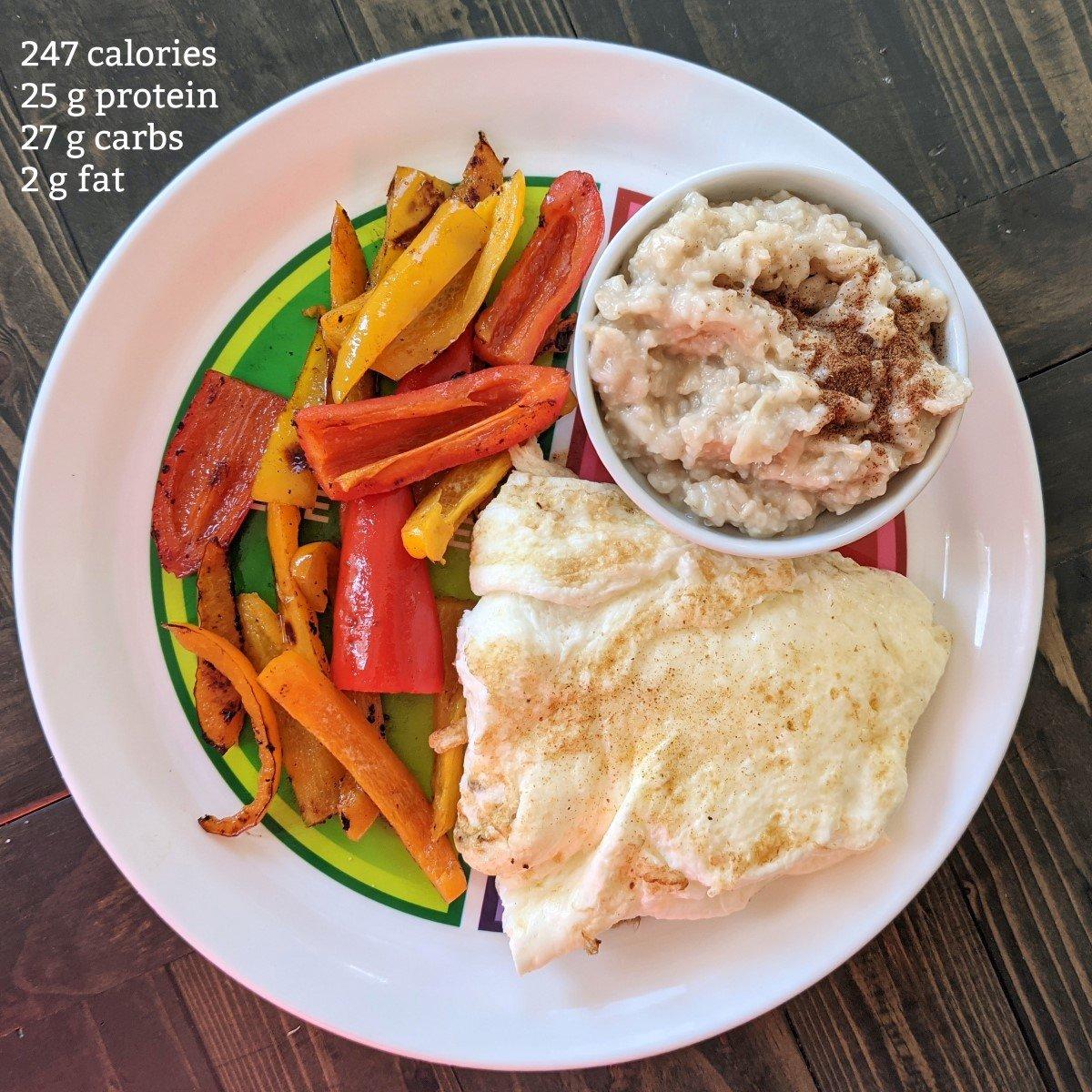bikini prep diet breakfast