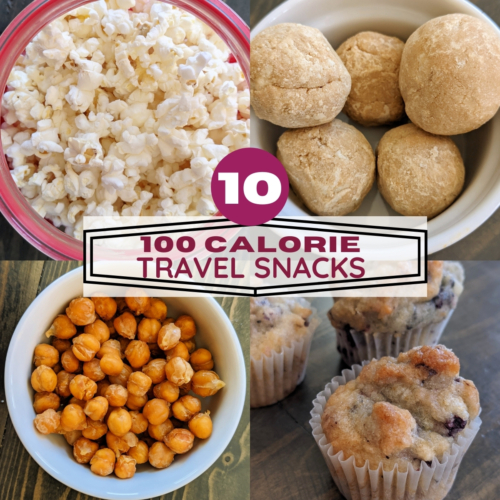 Ten 100 calorie travel snacks thumbnail