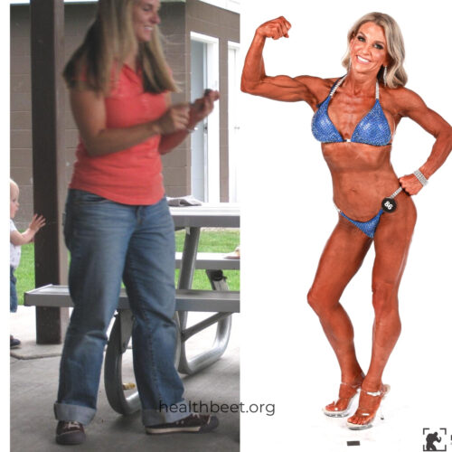 before and after pics from health beet amy roskelley