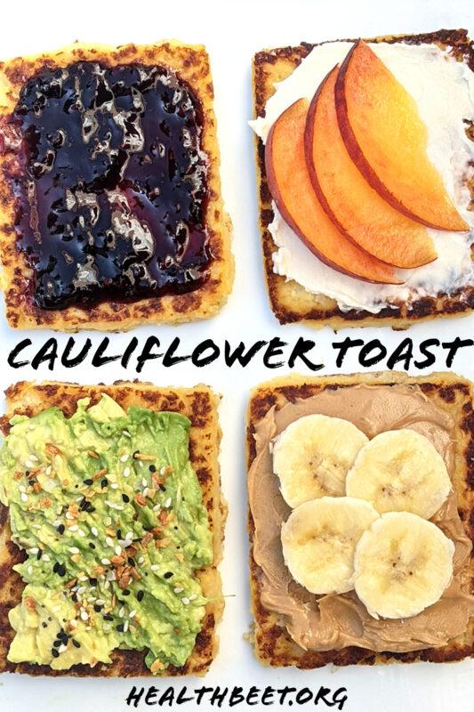 Cauliflower Toast Plain Pin 1000x1500