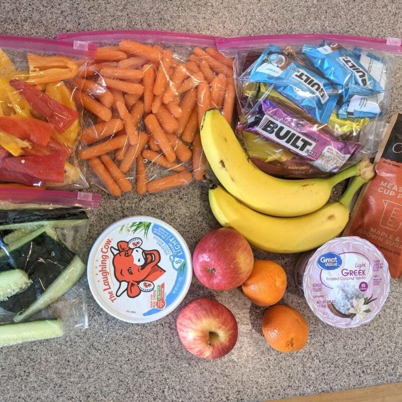 road trip snack foods like a built bar