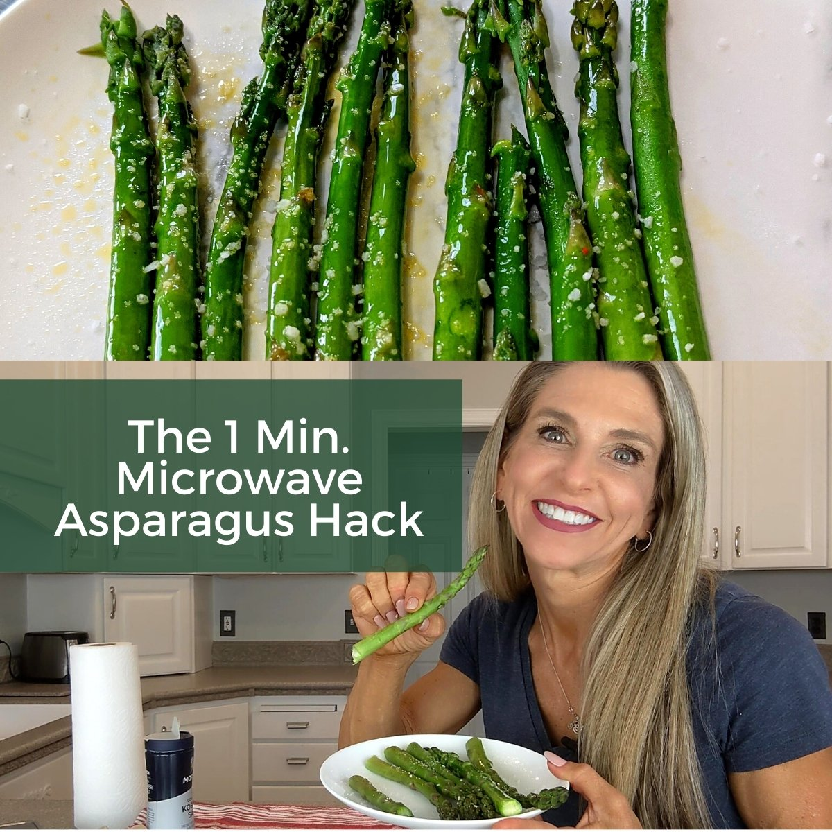 the one minute microwave asparagus hack thumbnail