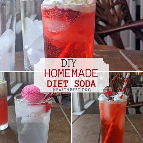 DIY homemade diet flavored sodas thumbnail