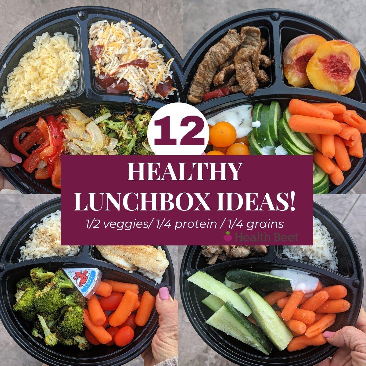 12 Healthy lunch box ideas thumbnail