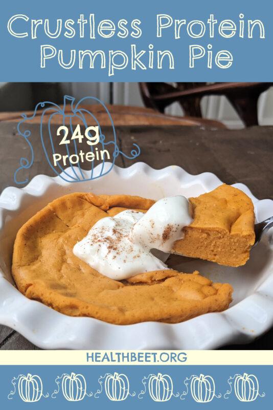 Protein Pumpkin Pie Pumpkin Pin 1000x1500