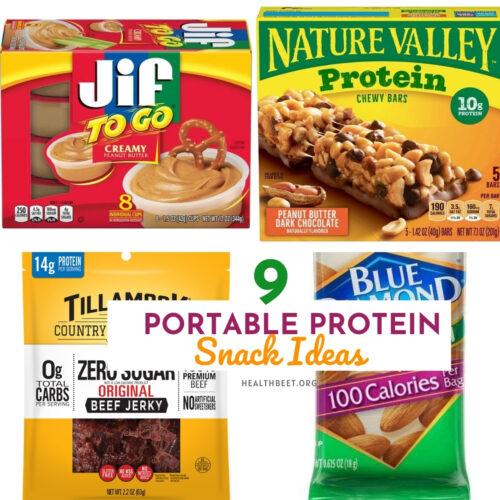 9 Portable protein snack ideas thumbnail