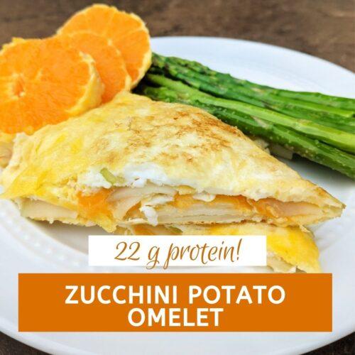 Zucchini potato omelet thumbnail sm